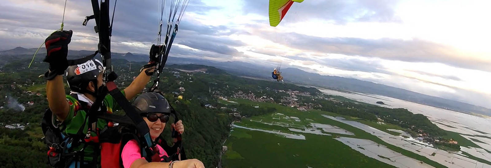Cloudbase Paragliding First in Philippines